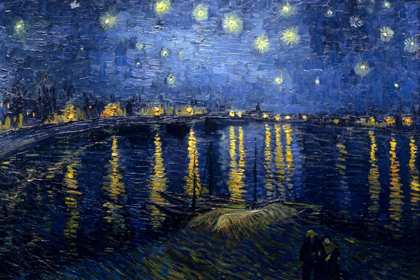 Van Gogh Starry_Night_Over_the_Rhone