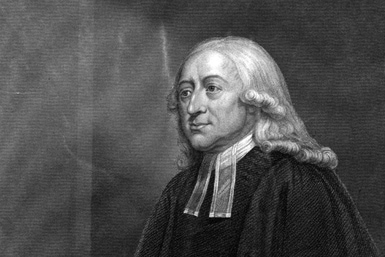 John Wesley (1703 - 1791), English evangelist and founder of Methodism.  Original Publication: People Disc - HM0492   (Photo by Hulton Archive/Getty Images)